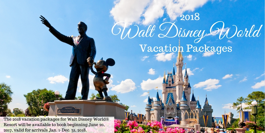 2018 Disney Vacation Packages