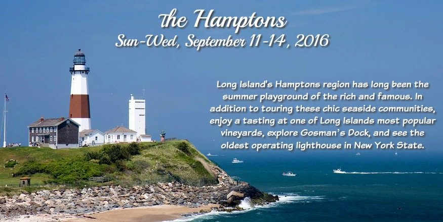 Experience the Hamptons!